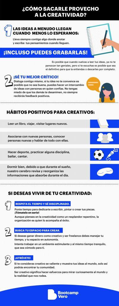 tips para sacarle provecho a la creatividad